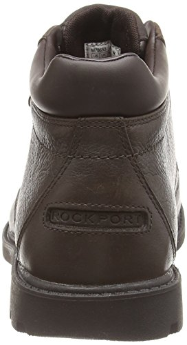 Rockport Rgd Buc Wp, Desert boots homme Marron (Dk Brown Smth)