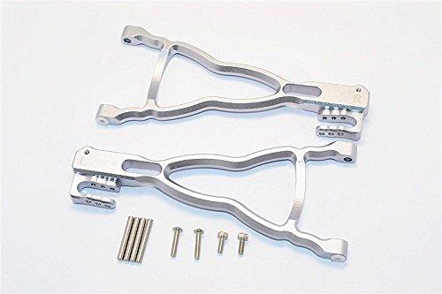 Traxxas E-Revo Brushless Edition Tuning Teile Aluminium Rear Lower Suspension Arm - 1Pr Set Grey Silver