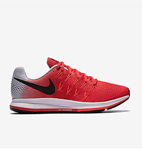 Nike Herren Air Zoom Pegasus 33 Laufschuhe, Rot (Actn Rd/Blk-PR Pltnm-Ttl Crmsn), 47 1/2 EU (Shirt Blk Short Sleeve)