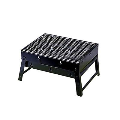 CjnJX-Picknickgrills BBQ-Grill, tragbarer Barbecue-Grill für 3-5 Personen Holzkohle-Grill für Tabelle kampierendes im Freiengarten-Grill BBQ-Gerät