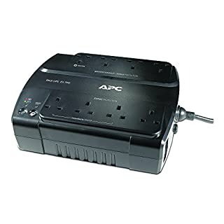 APC by Schneider Electric Back-UPS ES - BE700G-UK - Uninterruptible Power Supply 700VA (8 Outlets, Surge protected) (B002RXED6A) | Amazon price tracker / tracking, Amazon price history charts, Amazon price watches, Amazon price drop alerts
