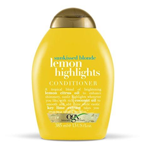 ogx Sunkissed blond Plus lemon Highlights Conditioner, 385ml -