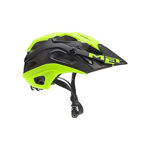 MET Lupo - Casco de Bicicleta - Amarillo/Negro Contorno de la Cabeza M   54-58cm 2018
