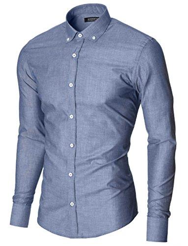 MODERNO - Slim Fit Business Herrenhemd (MOD1459LS)