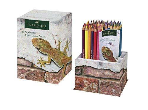 Faber-Castell Polychromos de edición limitada de lápices de colores Lápices de colores con punta de taza de 68…