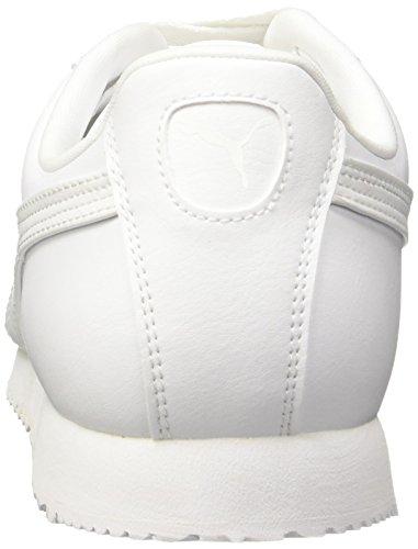 Puma Herren Roma Basic Sneakers Weiß (White-Light Gray 21)
