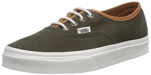 Vans Herren Authentic Low-Top Gr眉n ((T L) grape lea FNQ)