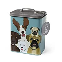Burgon & Ball Creaturewares GCR/DOG Pet Food Storage Tin The Rabble
