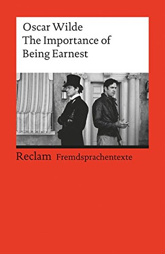 the importance of being earnest by oscar wilde 2 essay
