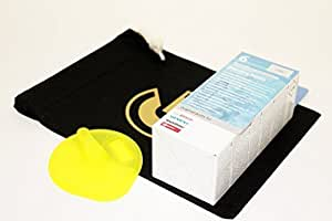 D'origine TASSIMO 621101 Machine à Café Nettoyage T- Disque et Tablettes Détartrantes 310967 avec gratuit café GRANDE SAC RANGEMENT Pour Maquettes - T20, T40, T45, T65, T85, 3107, TA1050, TA1200, TA1600, TAS12 TAS20 TAS32 TAS 40