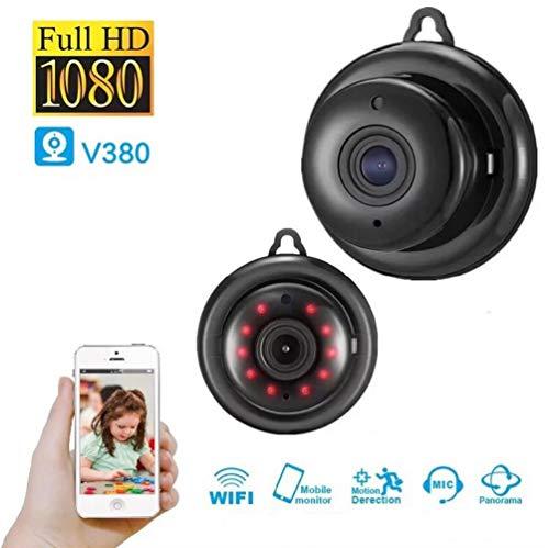 ZBAJIE Überwachungskamera Sicherheitskamera 960P HD Drahtlose WLAN Wifi Kamera mit Nachtsicht und Bewegungserkennung Bidirektionales Audio für Security Home IP Kamera