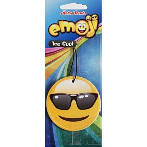 Emoji EM2D5Tirante Freddo con Sunglass Ice Deodorante per Auto
