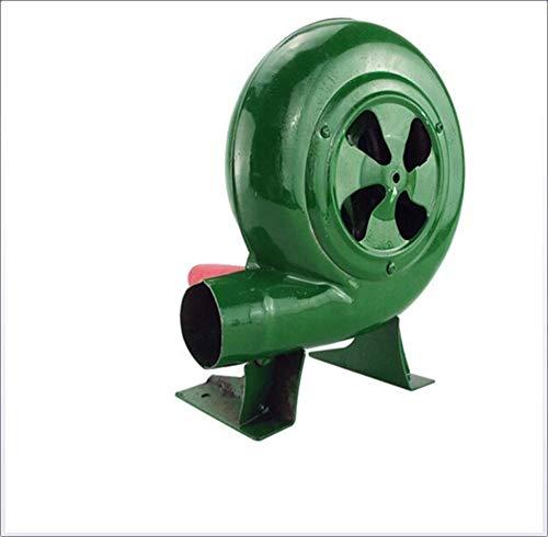 Fang Gebläse Grill Fan Top Manuelle Forge Gebläse-Kurbel Bellows BBQ Feuerzeuge Kohleanzünder Fan Grün 80-350W 350w Auto