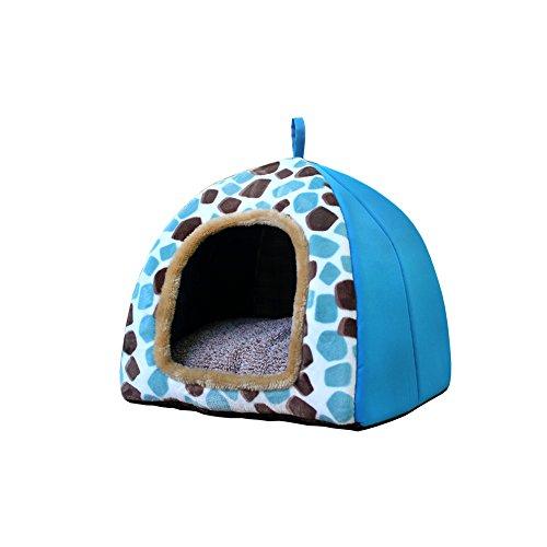 YNZYOG Petit nid de coton de litière de chat de chenil d'animal familier dans la grande forme lavable de belle yourte de coussin (taille : Xl)
