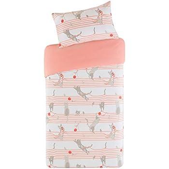 SCM Baby Bettwäsche 100x135cm Rosa 100% Baumwolle 2-teilig