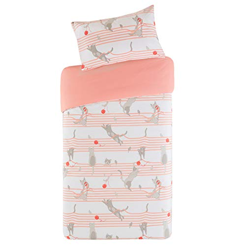 Kitty Cat Printed Duvet Cover Se...