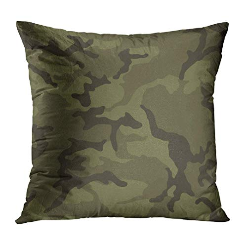 vcbndfcjnd Throw Pillow Cover Navy Camo Army Green Camouflage Military Force Air Urban Soldier Decorative Pillow Case Home Decor Square 16x16 Inches Pillowcase - Green X-large Camo