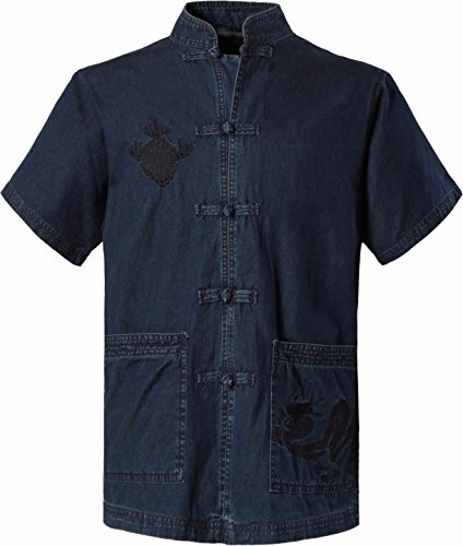 jeansian-homme-mode-chinois-traditionnel-men-casual-chinese-traditional-short-sleeves-tang-shirt-car