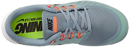 Nike Free 5.0, Chaussures de Sport Homme Gris (Dove Grey/Black/Electric Green/Volt)