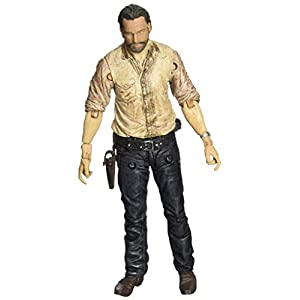 "Mall Market AMC TV Series The Walking Dead Series 6 Sergeant Rick Grimes Mcfarlane Toys 5.2"" Action Figure 5"