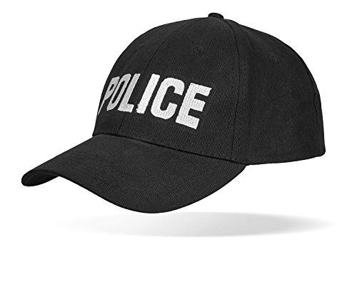 SWAT FBI SECURITY POLICE Baseballcap größenverstellbar durch Clipverschluss POLICE OneSize