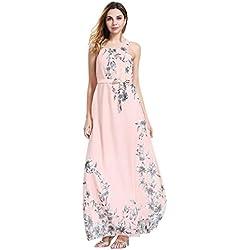 664fe87b Vestidos mujer casual largos verano 2018,VENMO Mujeres vestido de mujer sin mangas  de bohemio