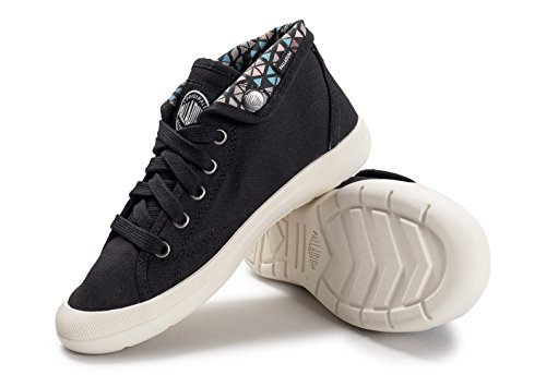Palladium Womens Aventure Canvas Trainers Noir