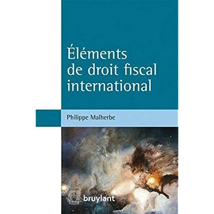 Éléments de droit fiscal international