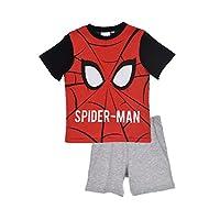 Spiderman Marvel Kids Short Sleeve Pajamas