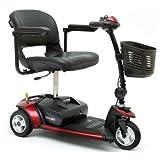 Portable Mobility Scooter - Pride Go Go Elite Traveller 3 Wheeled - 12 amp batteries