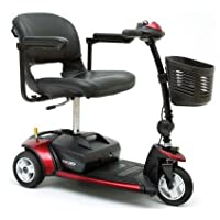 Portable Mobility Scooter - Pride Go Go Elite Traveller 3 Wheeled - 12 amp batteries