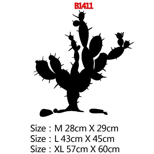 Neue Kaktus Wandaufkleber PVC Wandaufkleber Baby Kinderzimmer Dekoration wasserdichte Tapete Kunst Wandaufkleber Tapete