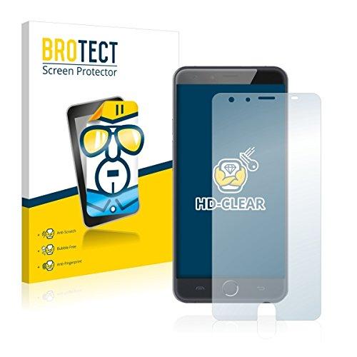 2X BROTECT HD Clear Bildschirmschutz Schutzfolie für Ulefone Be Touch 3 (kristallklar, extrem Kratzfest, schmutzabweisend)