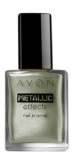 Avon Color Metallic Effects Nail Enamel, Jade Reflection, 8ml