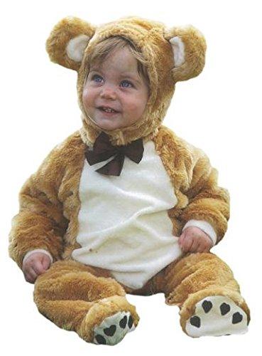 Baby-Teddybär fancy dress up BNWT 3-18 Monate, Jungen, Mädchen Kleinkind deluxe Kostüm (6-12 (18 Monate 12 Halloween Kostüme Kleinkind)