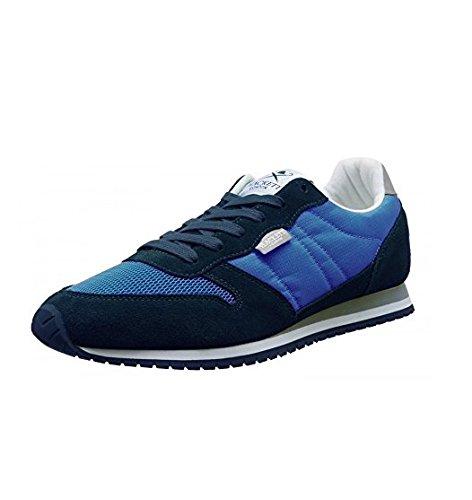 Hackett London Cl Street Hkt Sneaker Scarpe da Ginnastica per Uomo, Blu, 41