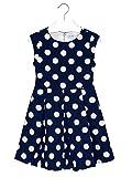 Mayoral 29-06943-029 - Vestito Bolle per Bambine e Ragazze 14 Anni Marino