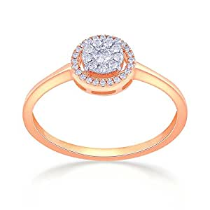 07f4994649c4f Buy Malabar Gold & Diamonds 18KT Rose Gold and Diamond Ring for ...