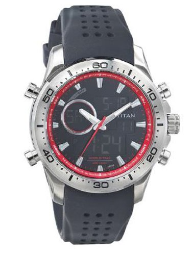 41%2B9ZgSy7ZL - Titan 9455SP01 Octane digital Mens watch