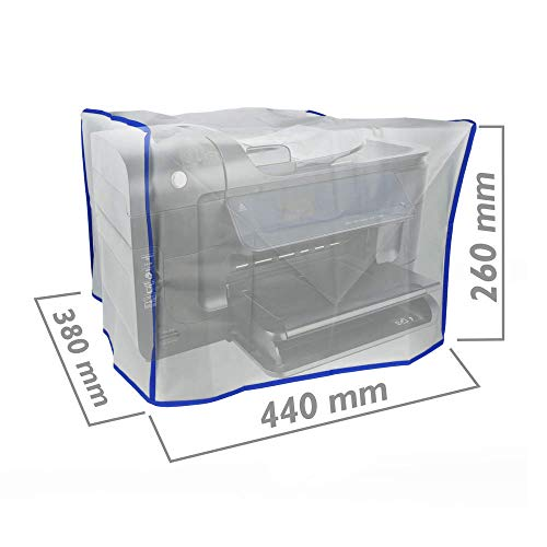 BeMatik - Schutzhülle für Laserdrucker Drucker Staubschutzhaube Universal 440 x 380 x 260 mm