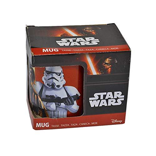 Mug Taza Darth Vader & Stormtrooper Espisodio VII Tasse/Tazza/Taza/caneca/mok - Regalo Friki Original - Disney