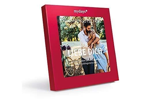 mydays Erlebnis-Gutschein \'Ich Liebe Dich\' | 2 Personen, 80 Erlebnisse, 750 Orte | Romantische Idee für Sie und Ihn