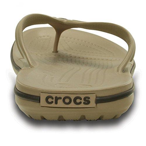 Crocs Band Flp, Tongs - Mixte adulte Taupe