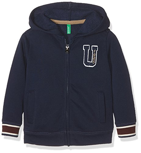 united-colors-of-benetton-3bdyc-sweat-shirt-capuche-garon-bleu-navy-12-18-mois-taille-fabricant-1y