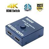 reado Conmutador HDMI 2x 1bidireccional conmutador HDMI 2x 1o 1x 2conmutador HDMI Full HD 1080p/2160p UHD (4K)/Rango de frecuencia 50/60Hz 3d capaz/HDCP/CEC/hec/Deep Color/Plug & Play