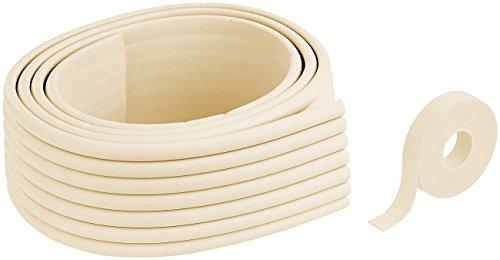 infactory Eckenschutz: Universal-Schaumstoff-Kantenschutz, 8 cm x 2 m, zuschneidbar, beige (Möbelschutz) (Ecke Schrank Möbel Verwendet)