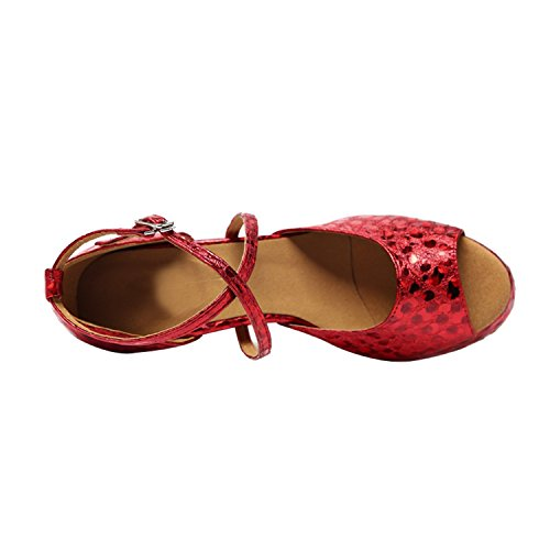Minitoo - Ballroom donna Red-8.5cm Heel