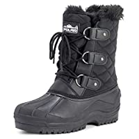 Polar Womens Short Snow Winter Tactical Mountain Waterproof Hiker Mid Calf Walking Boot