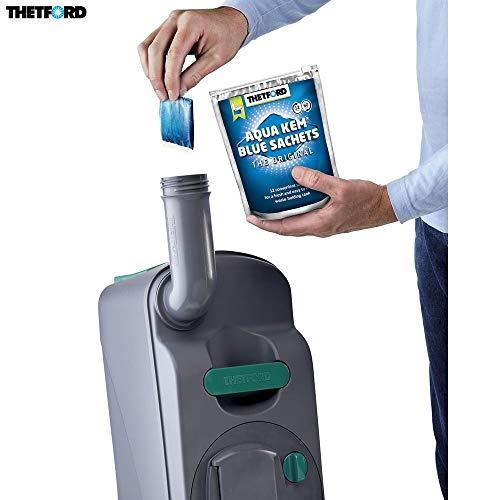 Aqua-tabletten (Desconocido Unbekannt Thetford Tabletten Aqua KEM Blue Sachets WC quimico Campers und Wohnmobil)
