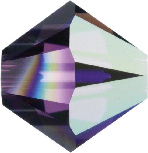Original Swarovski Elements Beads 5328 MM 5,0 - Tanzanite AB (539 AB) ; Diameter in mm: 5 ; Packing Unit: 720 pcs. Amethyst Aurore Boreale (204 AB)